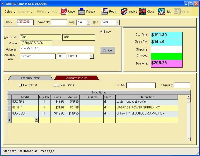 Bronze Inventory Pos System Pdf