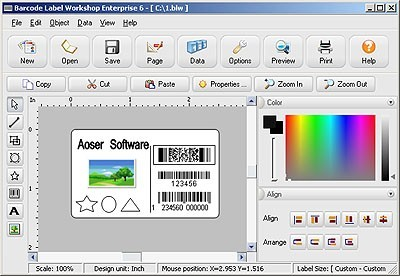 Barcode Label Workshop Standard Edition