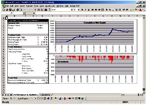 Trading system con excel download