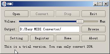 Easy Midi Convertor