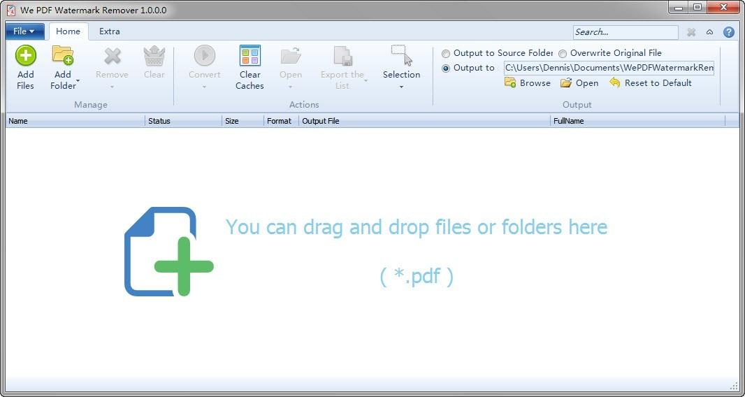 We PDF Watermark Remover