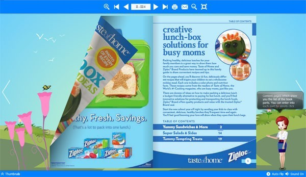 Digital FlipBook Software for html5