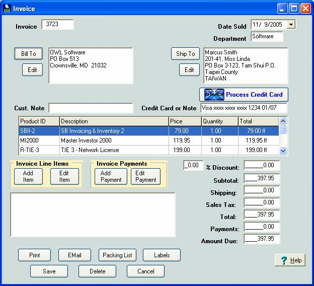 Download Free Invoicing And Quotation Billing By AccessDatabases V - Ms access invoice and quotation billing system free download