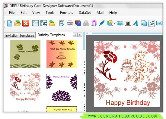 Generate Birthday Card