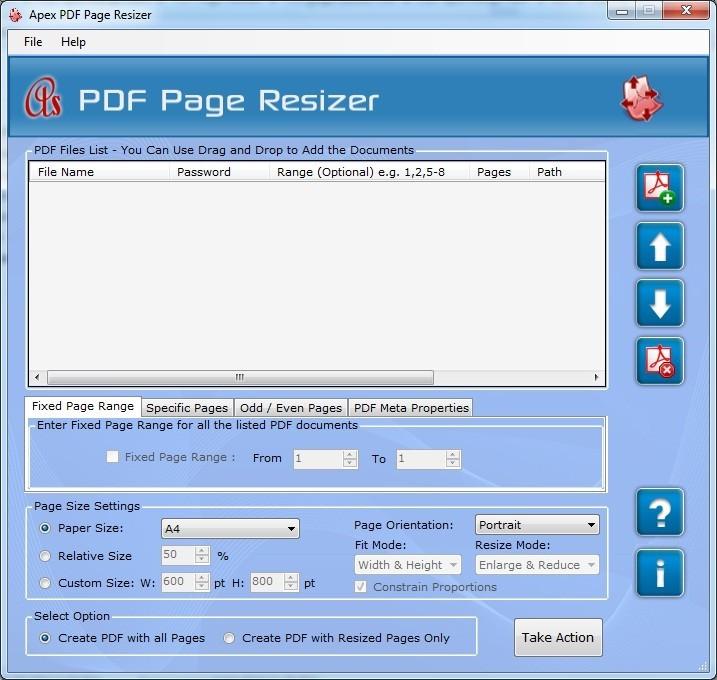 Apex Modify PDF Page Layout
