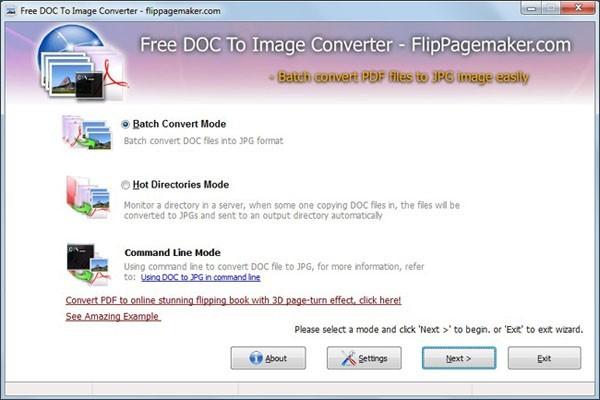 Flippagemaker Doc to Image