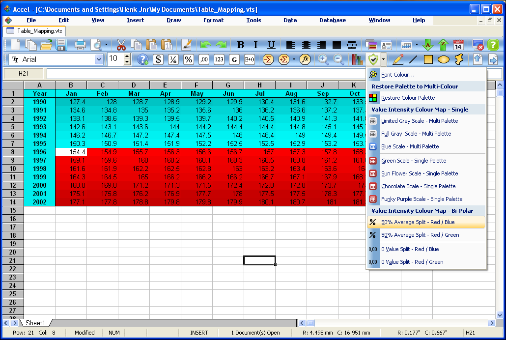 SSuite Office - Accel Spreadsheet