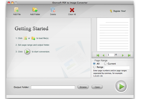 IStonsoft PDF to Image Converter for Mac
