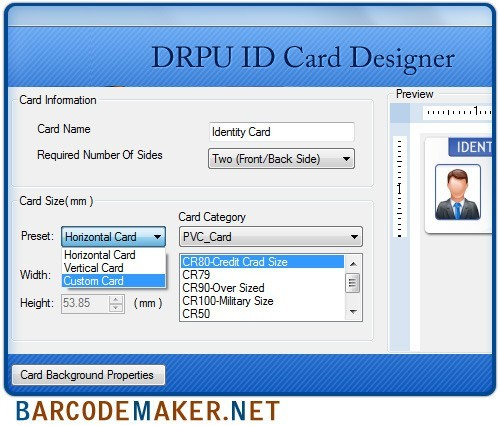 Student ID Card Maker