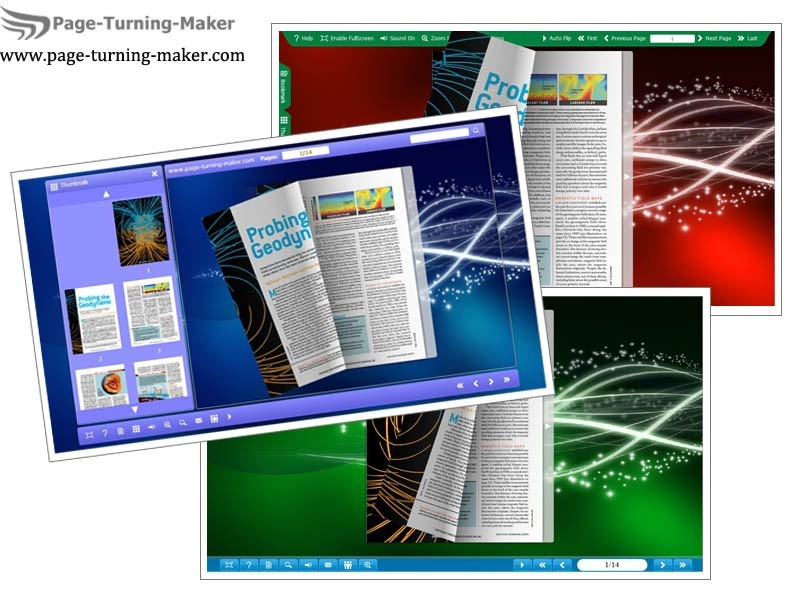 Starlight Template for Page Turning Book