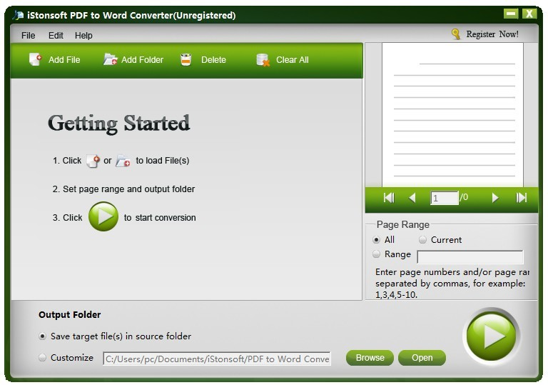 IStonsoft PDF to Word Converter