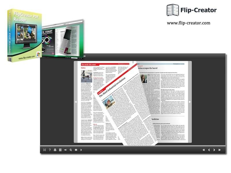 Free FlipCreator PDF Reader