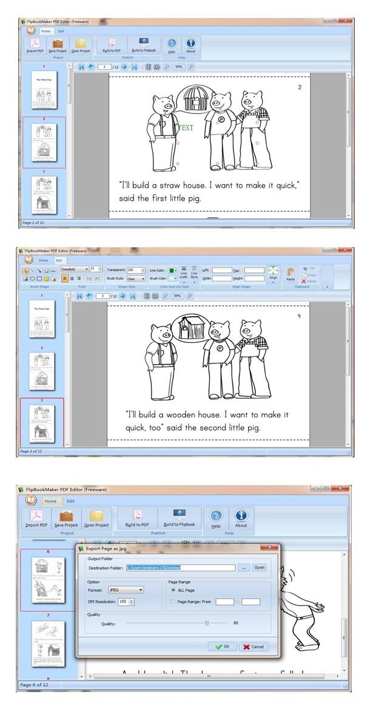 Free FlipBookMaker PDF Editor