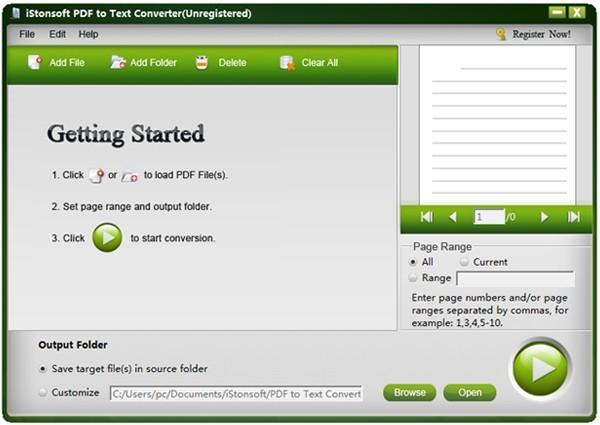 IStonsoft PDF to Text Converter