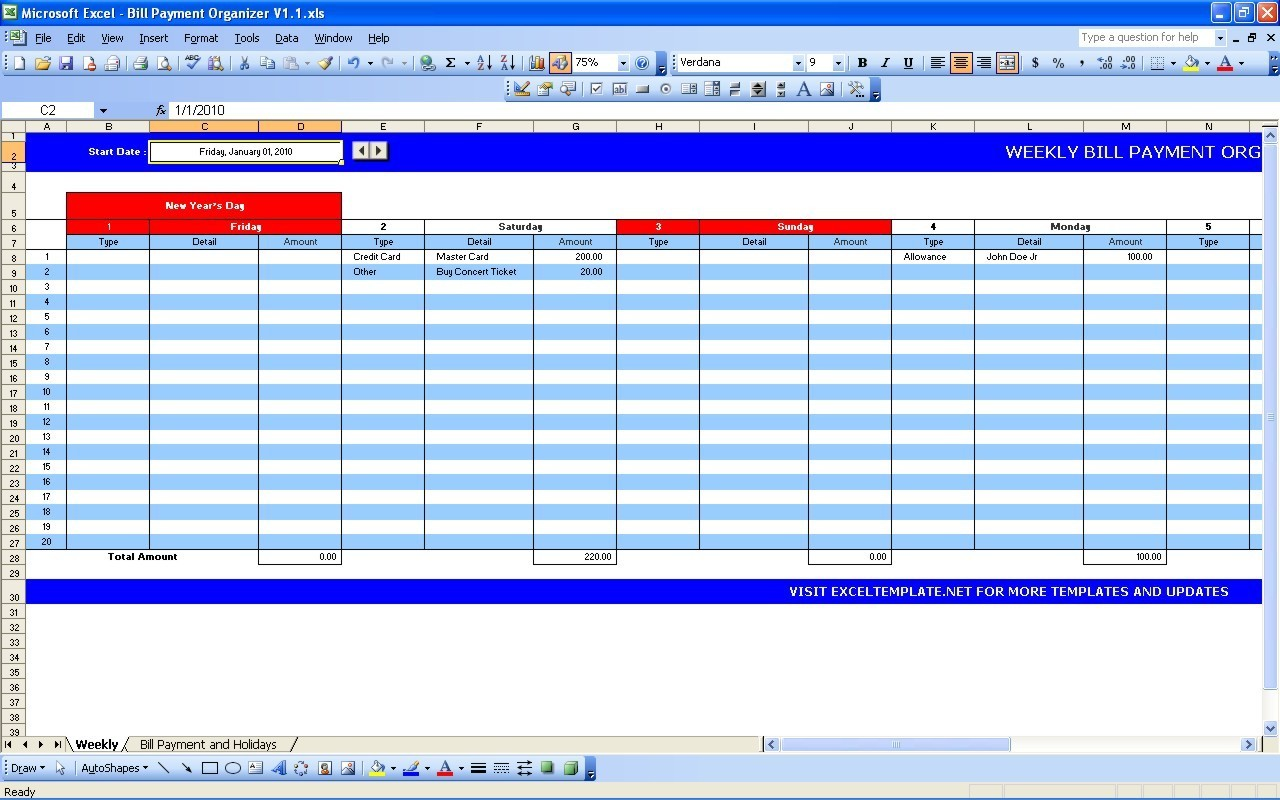 Coin Excel Template - Free Coin Excel Template Software Download