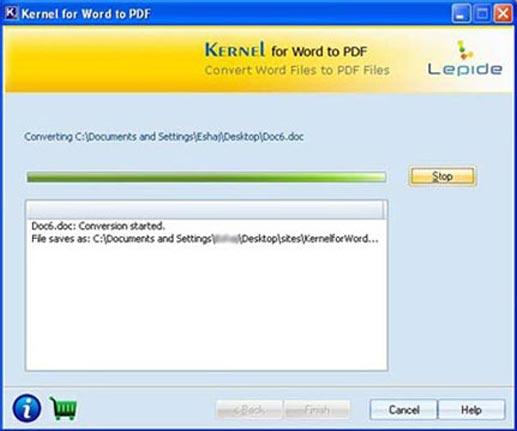 Online Convert DOC to PDF
