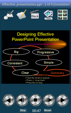 ShowDirector PowerPoint Remote Control