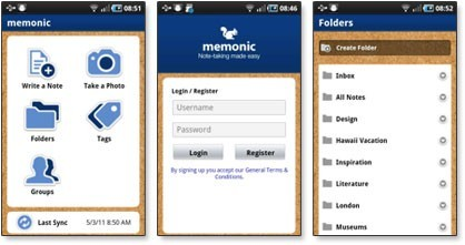 Memonic for Android