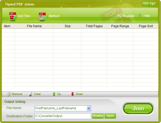 Tipard PDF Joiner