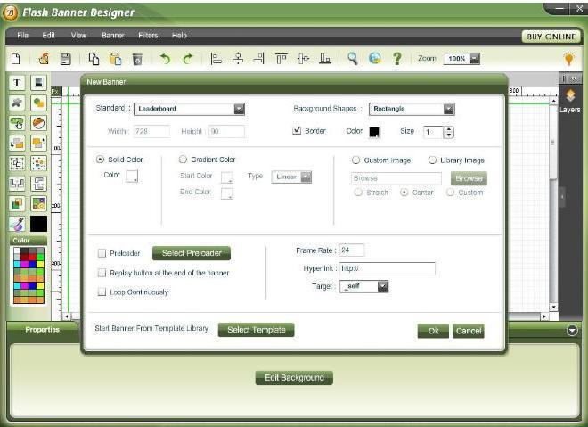 Flash Banner Software