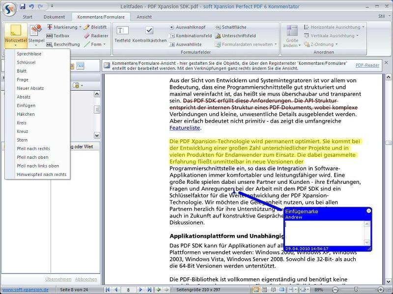 Perfect PDF 6 Commentator