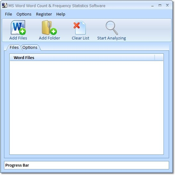 MS Word Word Count & Frequency Statistics Software