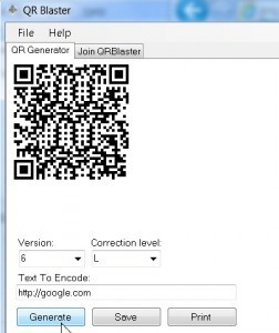 Download free QR Code Generator Software by I T v 3 0 3 3