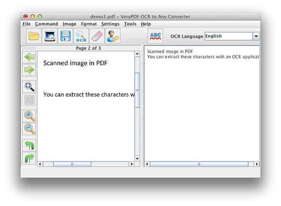 VeryPDF OCR to Any Converter for Mac