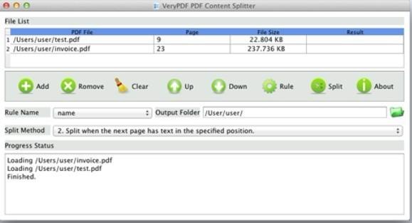 pdf file splitter software free download