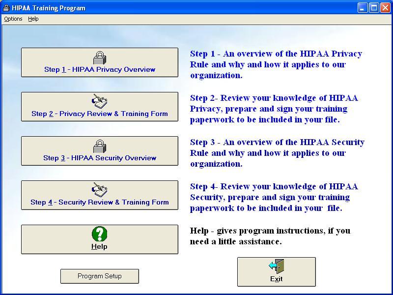 Business Assoc HIPAA Training Program