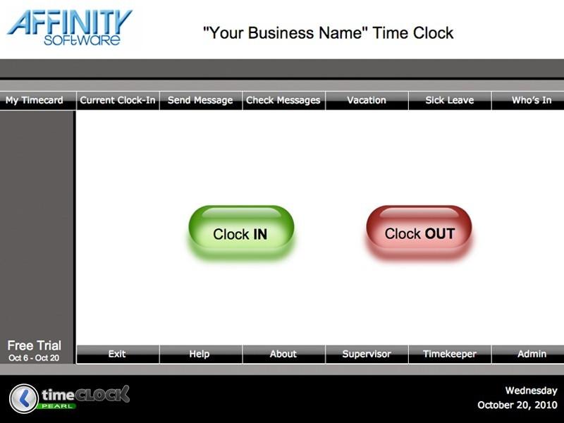 TimeClock Pearl Network Mac