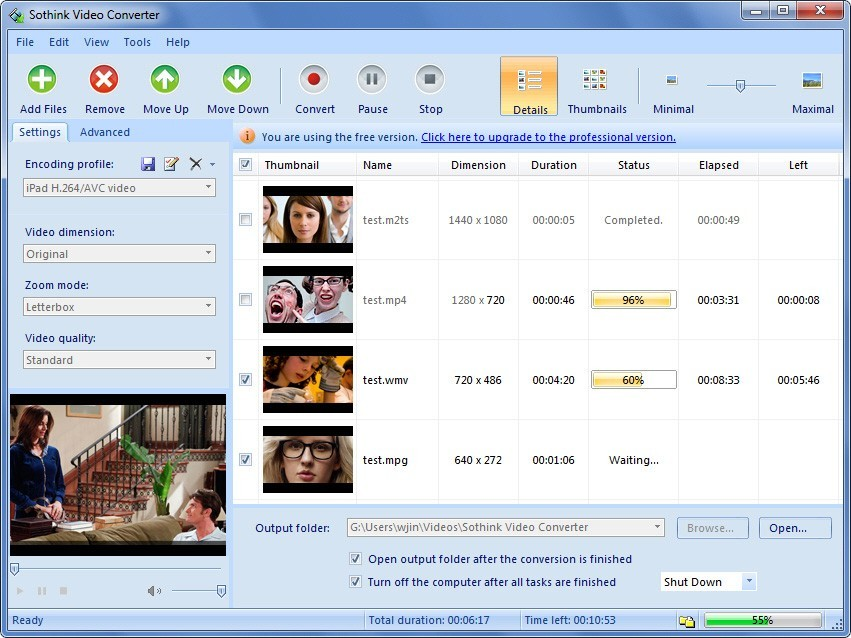 Sothink Free 3GP Video Converter
