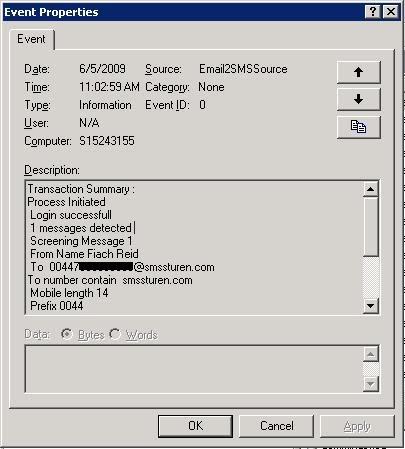 Email To SMS Gateway v3
