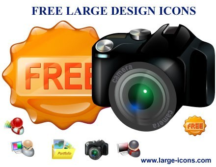 Free Large Design Icons