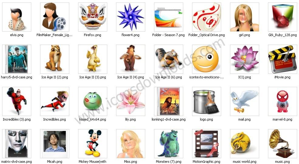 Art & Entertainment Icons