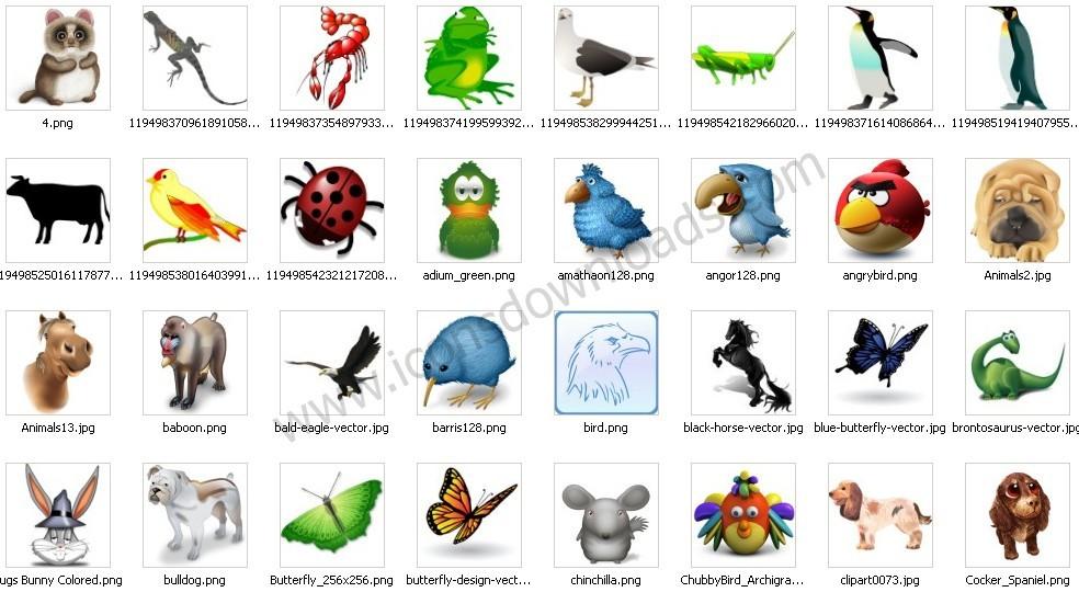 Animals & Wildlife Icons