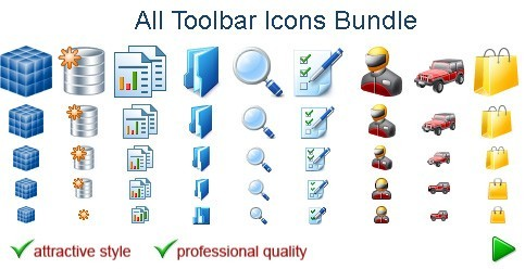 Windows Toolbar Icons