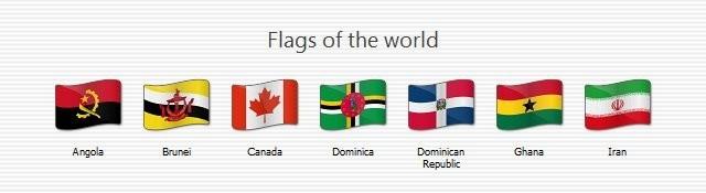Icon Set Flags 02