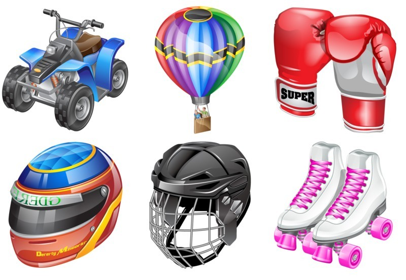 Real vista sports Stock Icons