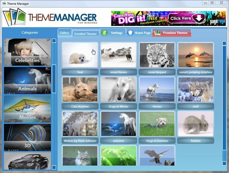 Windows Theme Manager