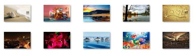 April 2012 Calendar Windows 7 Theme
