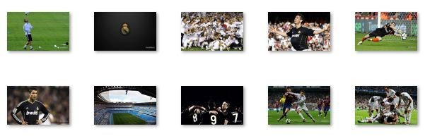 Real Madrid Windows 7 Theme with Song