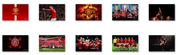 Manchester United Windows 7 Theme