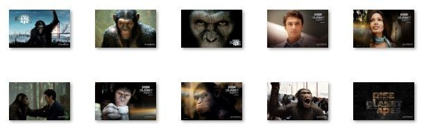 Rise of the Planet of the Apes W 7 Theme