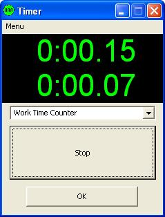 Work time ounter