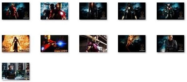 Iron Man 2 Windows 7 Theme