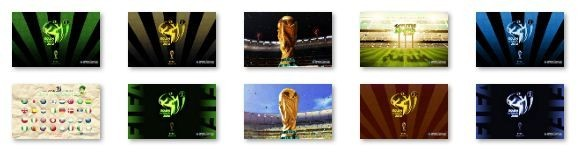 FIFA World Cup 2010 Windows 7 Theme