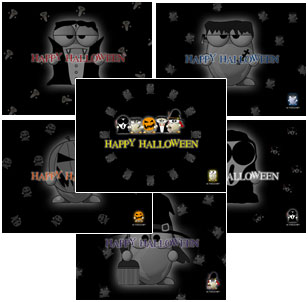 ALTools Halloween Monster Desktop Wallpapers