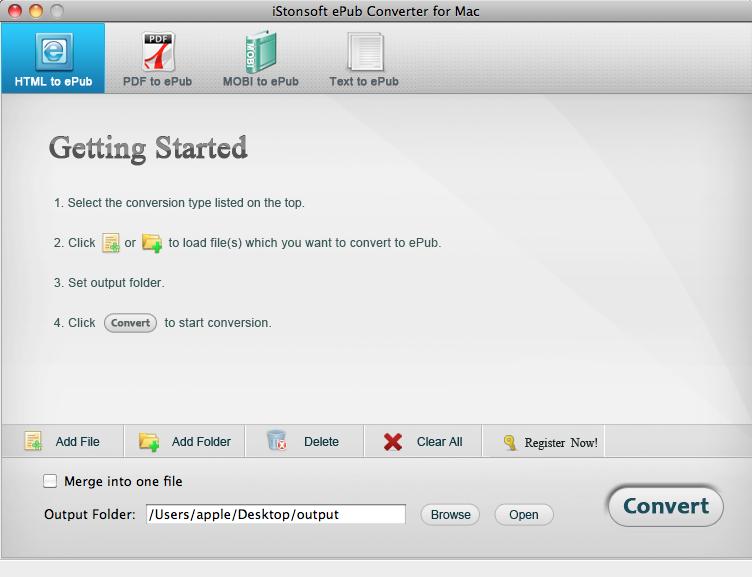 IStonsoft ePub Converter for Mac