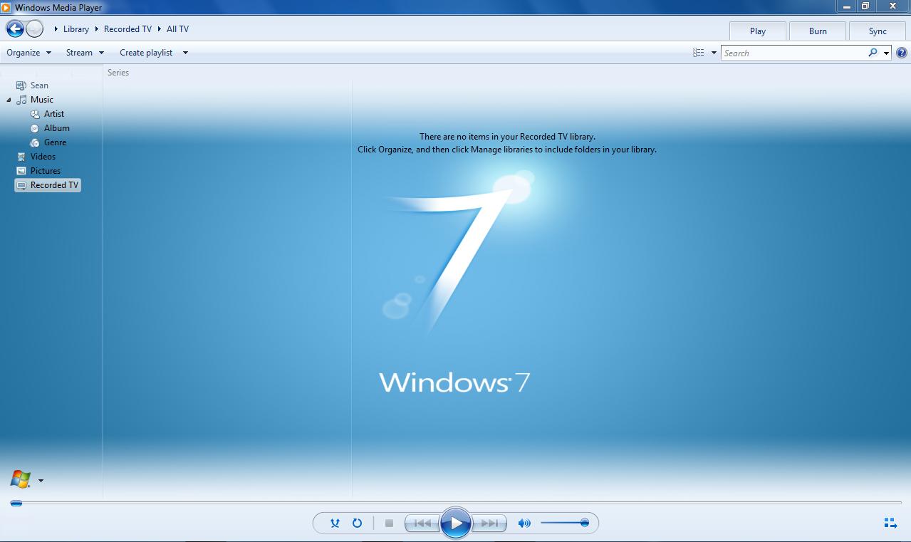 WMP12 - BLUE Theme